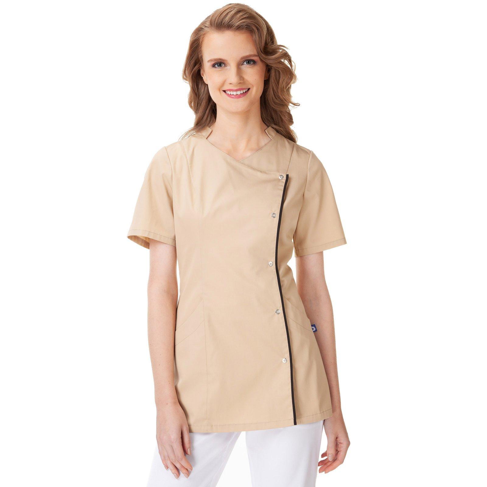 d670f59d6 Dámská Halena Uniformix. UN2038 Béžový | Zdravotnické oděvy \ Dámské ...